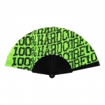 100% Hardcore Fan Allover Fluor green