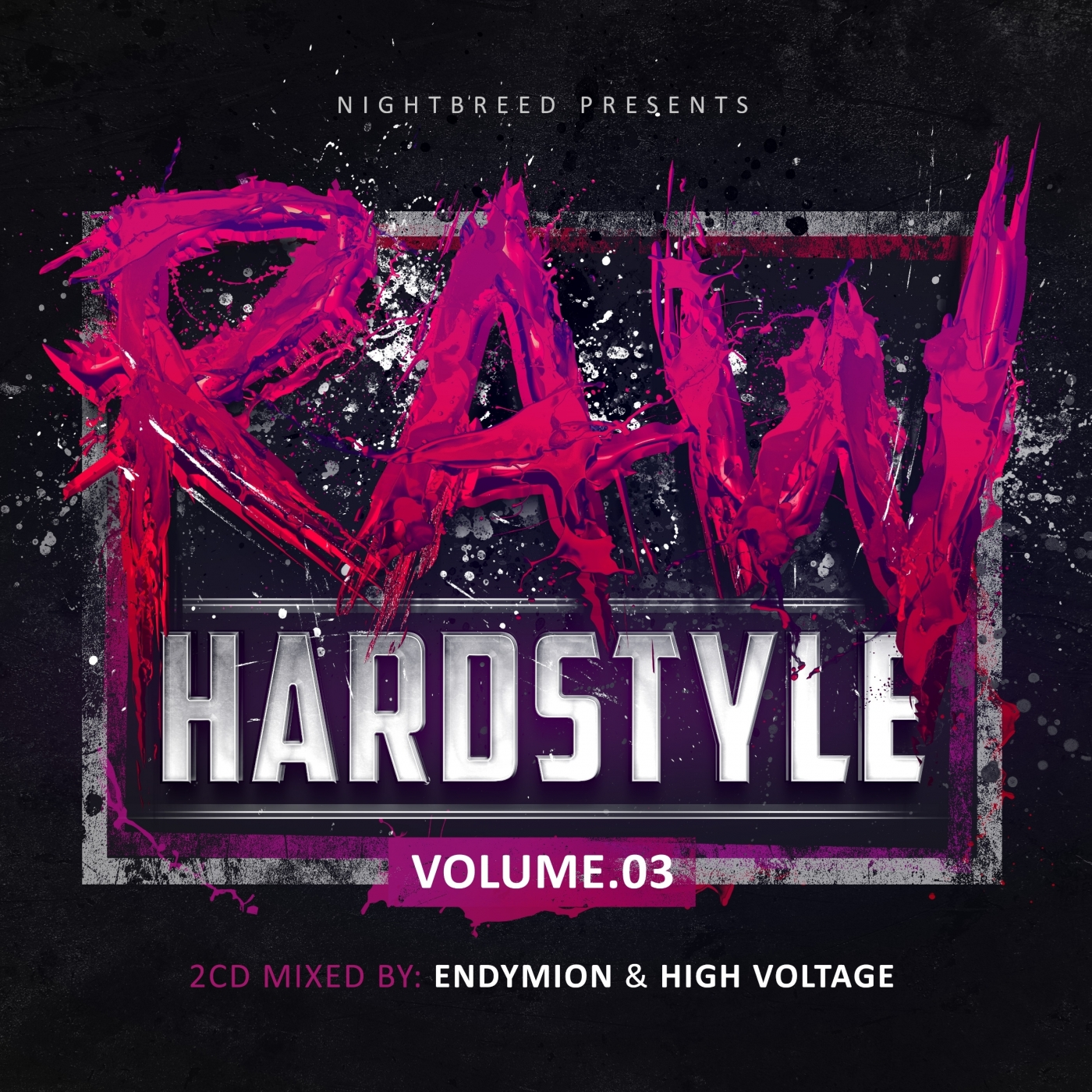 Raw hardstyle vol 3 endymion high voltage mydcd009 cd for Hardstyle house
