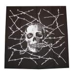 Bandana Skull black/white