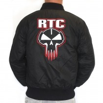 RTC bomber RED embroidery ONLY M and L!