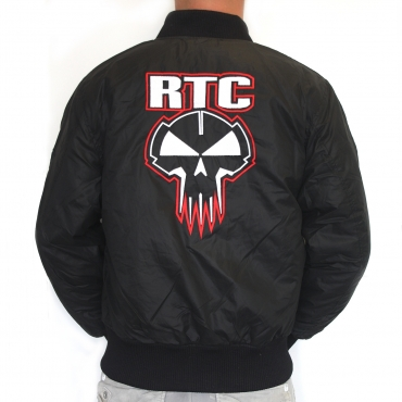 RTC bomber Red Stitched