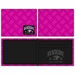 100% Hardcore wallet pink
