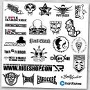 Hardcore Stickersheet 2015