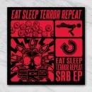 SRB eat sleep terror repeat sticker