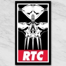 RTC OBEY Sticker