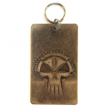 Metal Rotterdam Terror Corps badge