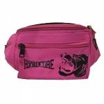 100% Hardcore Hip Bag Hound pink