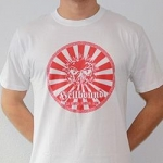 White Hellbound Empire shortsleeve - L