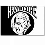 100% Hardcore Banner Hockey Mask