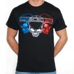 Frenchcore 3 Skulls shortsleeve