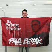 Dj Paul Elstak Flag 'Godfather of Hardcore'