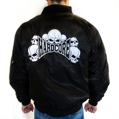 Hardcore Bomber Jacket Embroided Almost Sold Out