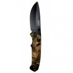 Camo Knife black blade