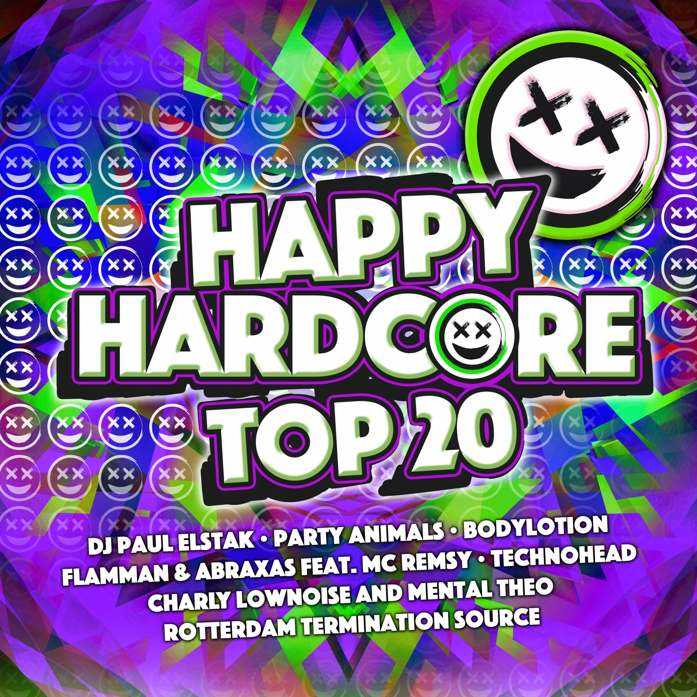 Happy hardcore 2016 top 20 cldm2016030 cd rigeshop for Top 20 house music