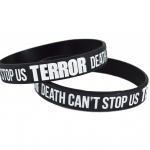 TERROR Silicone wristband