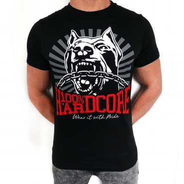 100% Hardcore Dog-1Shortsleeve