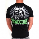 100% Hardcore Dog-1Shortsleeve bl/green