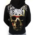 100% Hardcore Hozip Hockey Skull Gold
