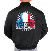 Frenchcore Baseball jacket 'Skulls'