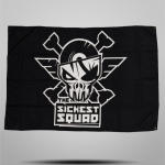 The Sickest Squad Flag