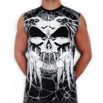 RTC 'SHATTERED GLASS' ALL OVER PRINTED SLEEVELESS T-SHIRT