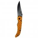 Survival Knife Clip Black/Gold