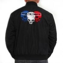 Frenchcore Baseball jacket 'Skulls'