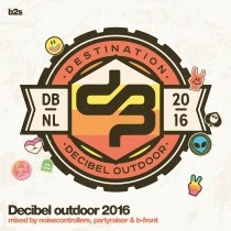 Decibel 2016 3 cd mixed by partyraiser