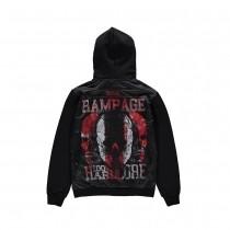 100% Hardcore Hooded Zipper Rampage
