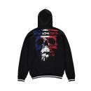 Frenchcore Hooded zipper Crushed Skull