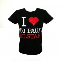I Love Dj Paul Elstak Lady T-shirt