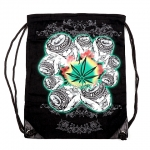 Backpack Weed Leaves