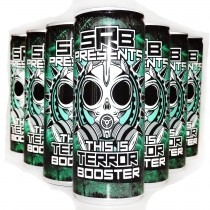 SRB TERROR BOOSTER Energy drink Green