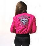 RTC Lady Baseball Jacket Pink