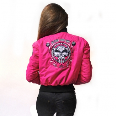 RTC Lady Baseball Jacket Pink