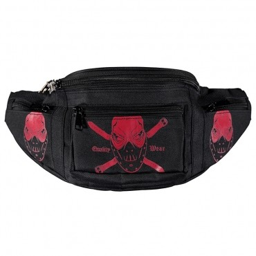 100% Hardcore hipbag Pirate Mask pink