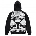 TERROR Hooded Zipper Join or Die