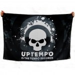 Uptempo is the tempo flag 100x150 cm