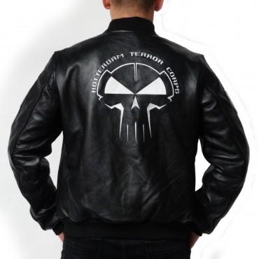 RTC Leather Bomberjacket