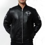 RTC Leather Bomberjacket