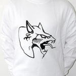 White Neophyte sweater front logo