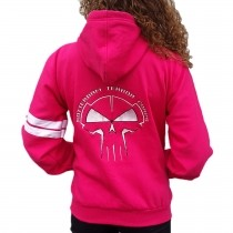 RTC Hooded Zipper Pink Embroided