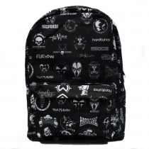 Hardcore Logo Backpack All Over
