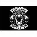 100% Hardcore Banner Bring it on