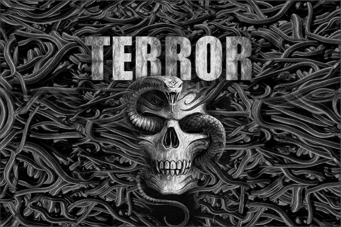 Terror Banner Snake Attack 860012050 Flag Rigeshop
