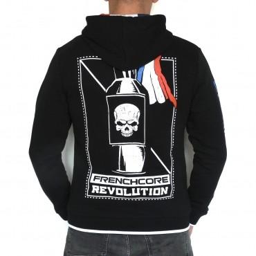Frenchcore Hooded Zipper Molotov