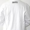 White Neophyte sweater front logo