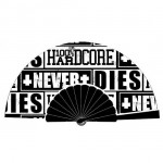 100% Hardcore Fan Never Dies Black