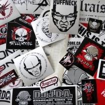 Super Hardcore Stickerpack over 35 Stickers!