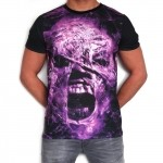 100% Hardcore T-Shirt Subl Scream Purple